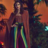 Total looks en tela de ante y colores vivos en el pantalón para la nueva colección SS17 de Balmain