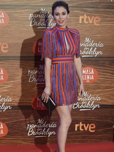 Blanca Suárez con un vestido de Elisabetta Franchi