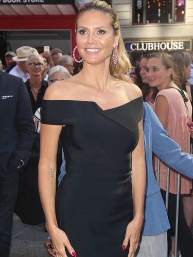Heidi Klum con un vestido 'Little Black Dress'