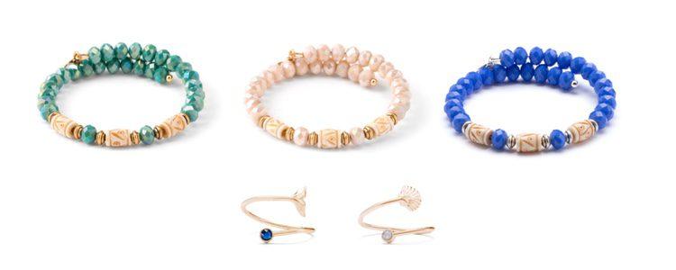 Complementos de la nueva colección 'Verano bajo el mar' de la marca 'Alex and Ani' 2016