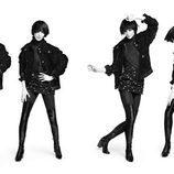 Modelo posando en blanco y negro de la nueva precampaña otoño/invierno 2016 de Chanel