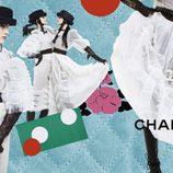 Collage de la nueva campaña de otoño/invierno 2016 de Chanel