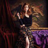 Falda midi estampada y top de la nueva colección otoño-invierno 2016/2017 de Dolores Promesas Heaven