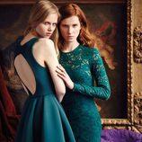 Vestidos en color azul turquesa de la nueva colección otoño-invierno 2016/2017 de Dolores Promesas Heaven