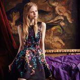 Vestido de estampado floral de la nueva colección otoño-invierno 2016/2017 de Dolores Promesas Heaven