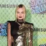 Margot Robbie en la premiere de 'Escuadrón Suicida'