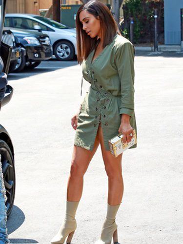 Kim Kardashian en West Hollywood