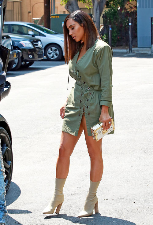 Kim Kardashian en West Hollywood