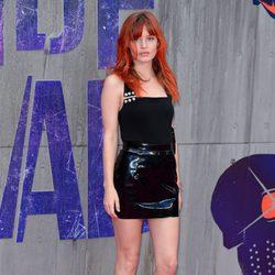 Georgia May Jaagger en la premiere de 'Escuadrón Suicida'