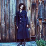 Abrigo corte masculino marinero de la nueva colección de otoño/invierno 2016/2017 de Zara