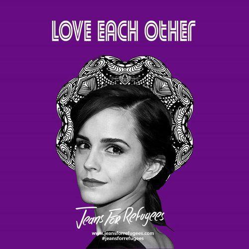 Emma Watson para la iniciativa 'Jeans for refugees'