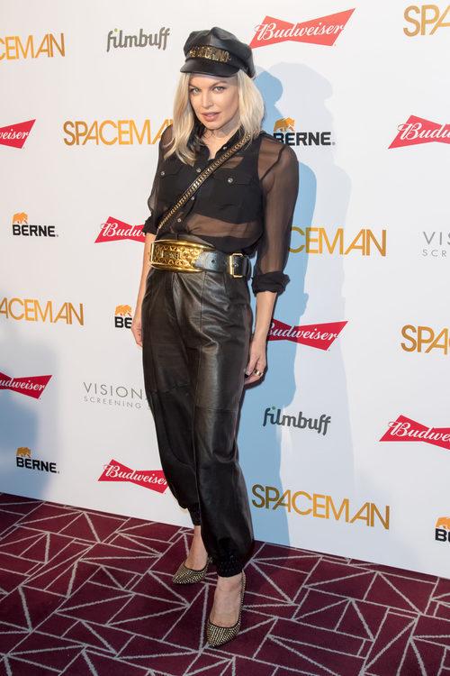 Fergie en la premiere de 'Spaceman'