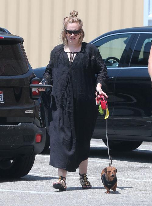 Adele por las calles de California