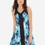 Vestido estampado de Eva Longoria para The Limited