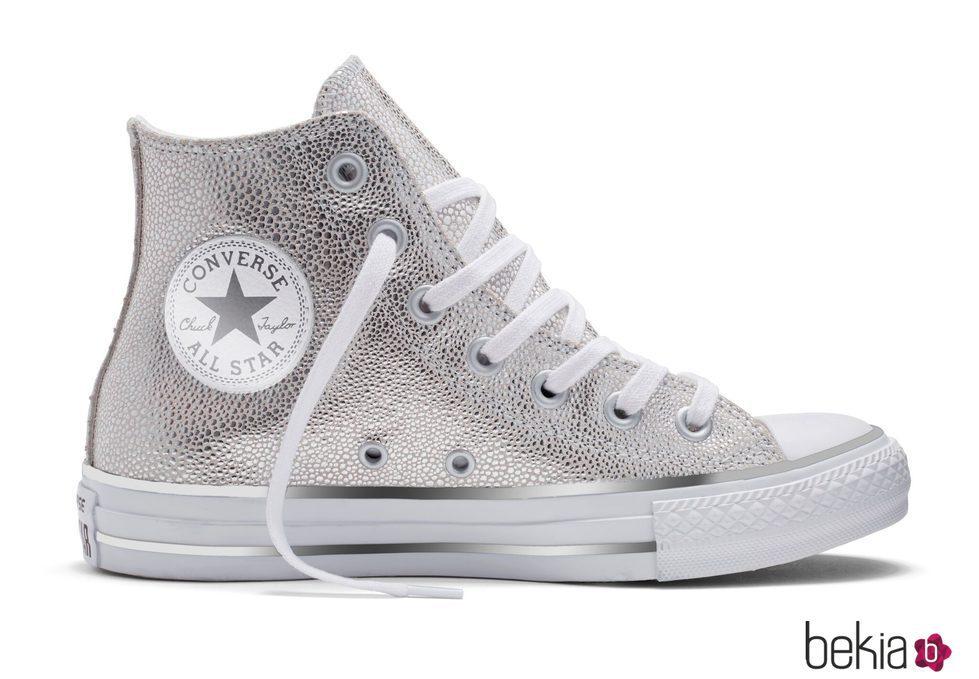 Zapatillas 'pure silver' de Converse otoño/invierno 2016/2017