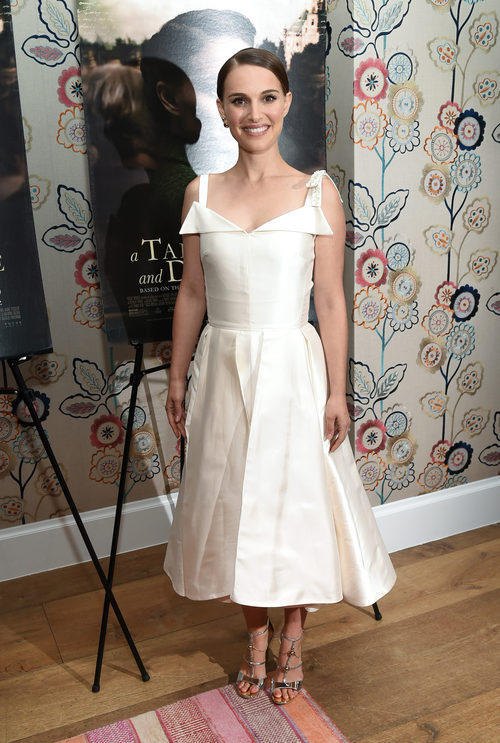 Natalie Portman en la premiere de 'A Tale of Love and Darkness'