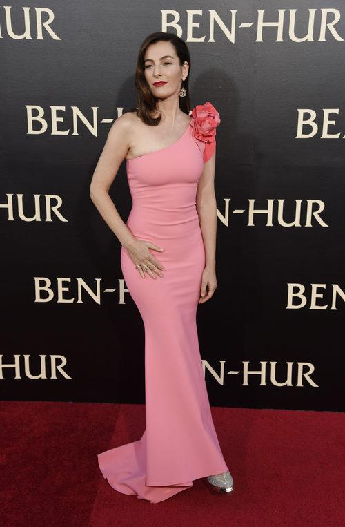 Ayelet Zurer en la premiere de 'Ben-Hur'