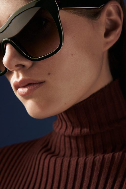 Gafas 'Audrey visor' de Victoria Beckham otoño/invierno 2016/2017