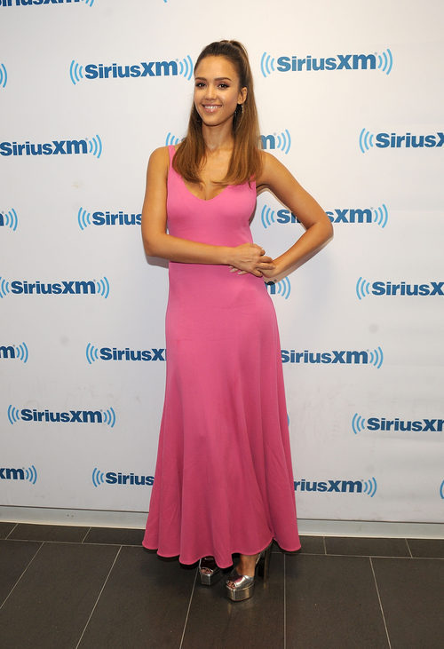 Jessica Alba en la radio americana SiriusXM