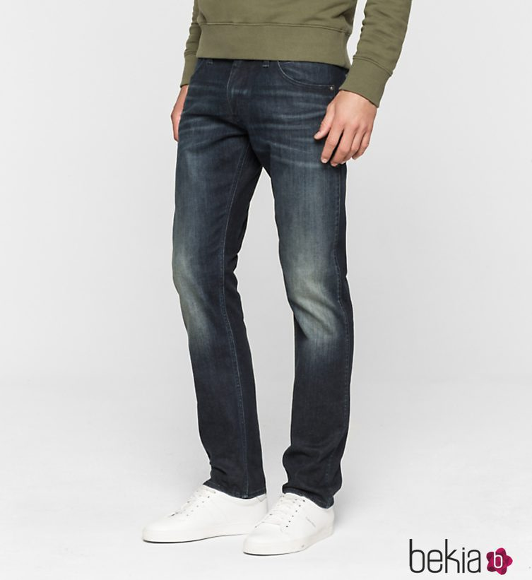 488e6a5e35c0b Anterior Vaqueros para hombre de Calvin Klein Jeans otoño invierno 2016 2017