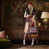 Dree Hemingway para Accessorize colección otoño/invierno 2016/2017