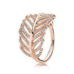 anillo pandora corona rosa