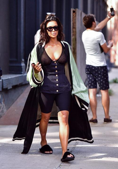 Kim Kardashian por las calles de Nueva York