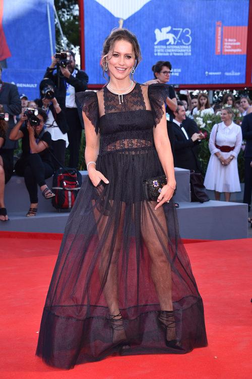 Lola Ponce en la ceremonia de apertura del Festival de Cine de Venecia