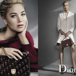 Jennifer Lawrence muestra la colección de bolsos de Dior otoño/invierno 2016/17