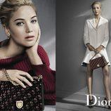 Jennifer Lawrence en la campaña de Dior otoño/invierno 2016/2017