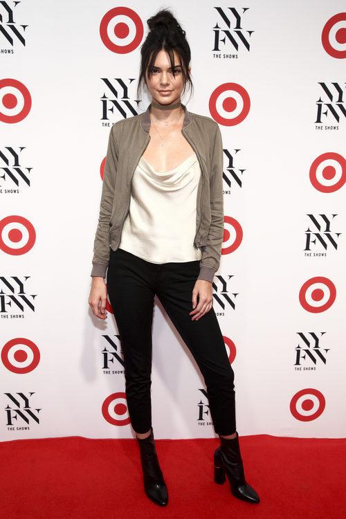 Kendall Jenner en la fiesta de la Semana de la Moda de Nueva York