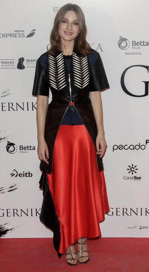 María Valverde en la premiere de 'Gernika'