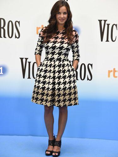Paula Prendes en la presentación de 'Victor Ros' en el Festival de Vitoria