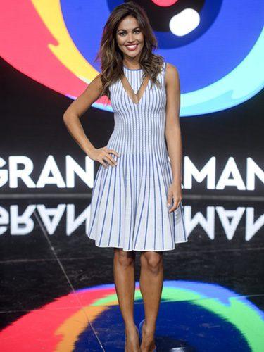 Lara Álvarez en la rueda de prensa de Gran Hermano 17
