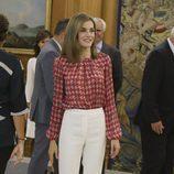 La Reina Letizia en una audición en el Palacio de la Zarzuela
