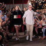 Gigi Hadid presenta su propia colección otoño/invierno 2016/2017 con Tommy Hilfiger en la Semana de la Moda de Nueva York