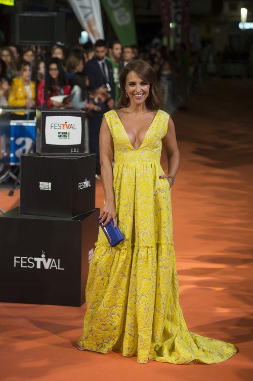 Paula Echevarría en el Festival de Vitoria