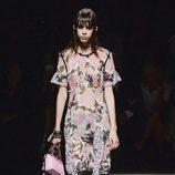 Vestido floral de Coach primavera/verano 2017 en la Semana de la Moda de Nueva York