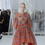 Vestido bordado de Delpozo primavera/verano 2017 en la Semana de la Moda de Nueva York