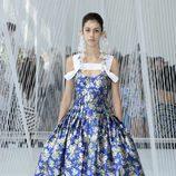 Vestido floral de Delpozo primavera/verano 2017 en la Semana de la Moda de Nueva York
