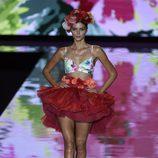Bikini floral de Andrés Sardá primavera/verano 2017 en la Semana de la Moda de Madrid