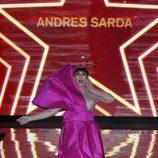 Rossy de Palma en el desfile de Andrés Sardá primavera/verano 2017 en la Semana de la Moda de Madrid