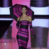 Vestido largo de Andrés Sardá primavera/verano 2017 en la Semana de la Moda de Madrid