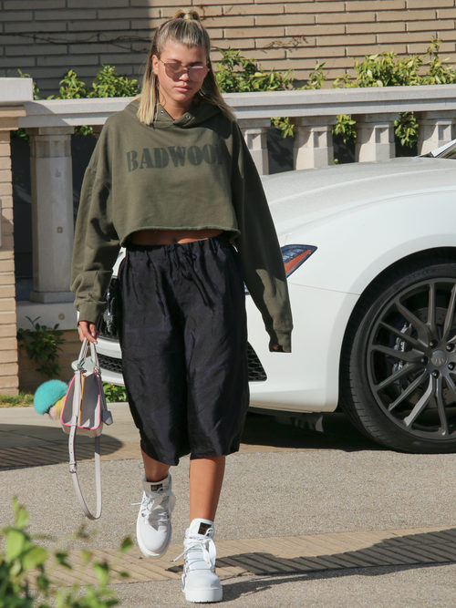 Sofia Richie por las calles de Los Ángeles