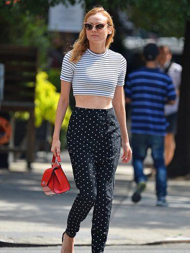 Diane Kruger en las calles de Nueva York