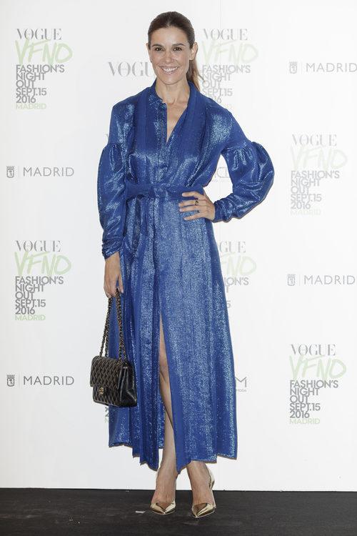 Raquel Sánchez Silva en la Vogue Fashion Night Out