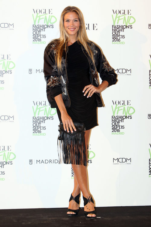 Patricia Montero en la Vogue Fashion Night Out