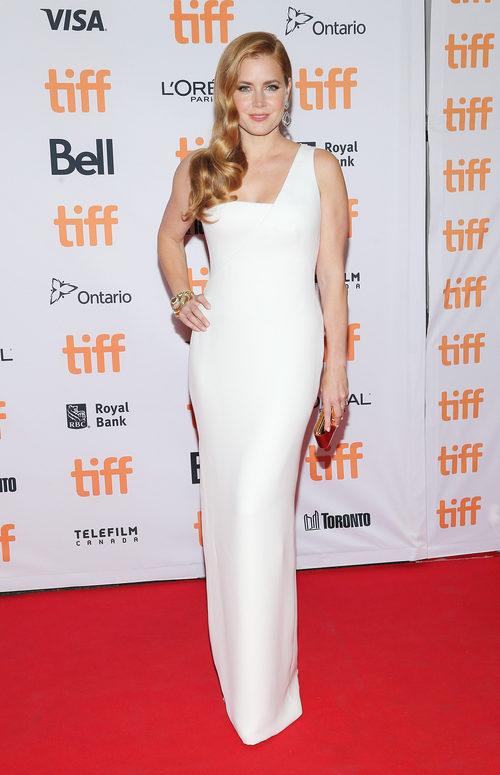 Amy Adams en el photocall del Festival de Cine de Toronto