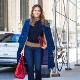 Jessica Alba por las calles de Nueva York