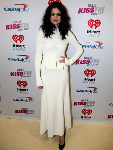 Selena Gomez en la fiesta de 103.5 KISS FM's Jingle Ball en Chicago